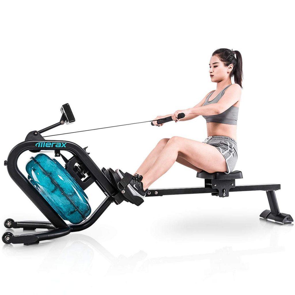Merax Water Rowing Machine
