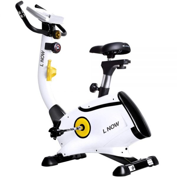 L NOW D808 Upright Bike Magnetic Resistance Exercise Bike