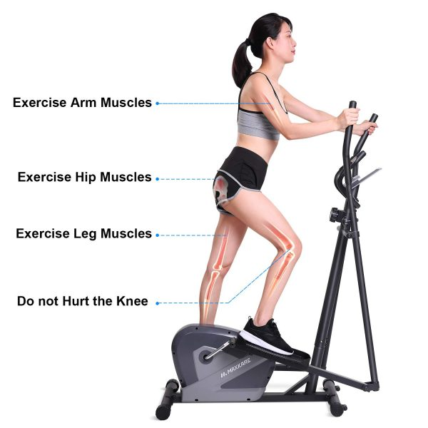 MaxKare Elliptical Cardio Trainer