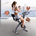 MaxKare Semi Recumbent Magnetic Upright Exercise Bike