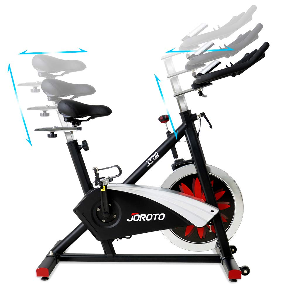 JOROTO X2 Magnetic Indoor Cycling Spin Bike Review – Health and ...