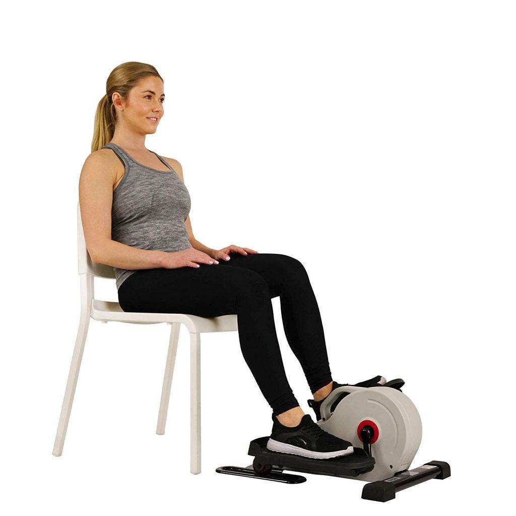 Sunny Health & Fitness Magnetic Under Desk Elliptical – SF-E3872