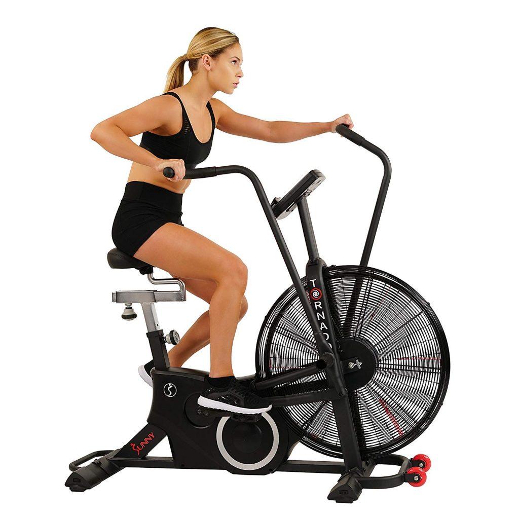Sunny Health & Fitness SF-B2729 Exercise Tornado Fan Air Bike