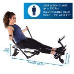 Stamina BodyTrac Glider Rowing Machine 1052
