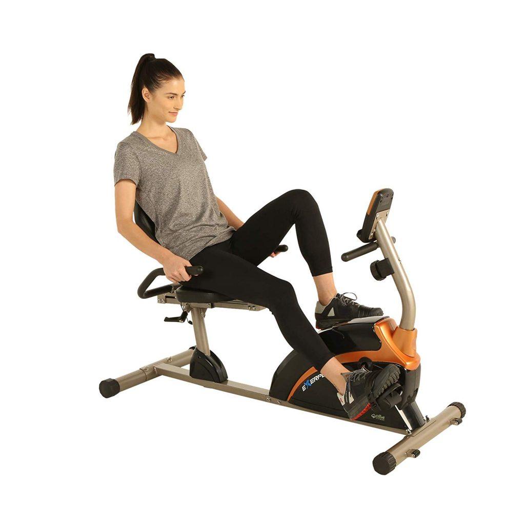 Exerpeutic 900XL 300 lbs. Weight Capacity Recumbent Exercise Bike