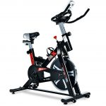 ML-SPEED Silent Belt Driven Exercise Bike