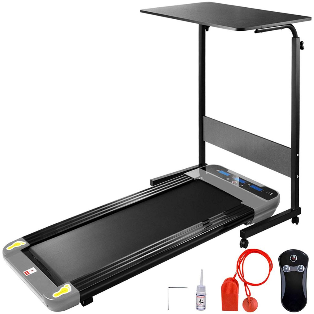 Popsport Smart Treadmill Folding Digital with Desk