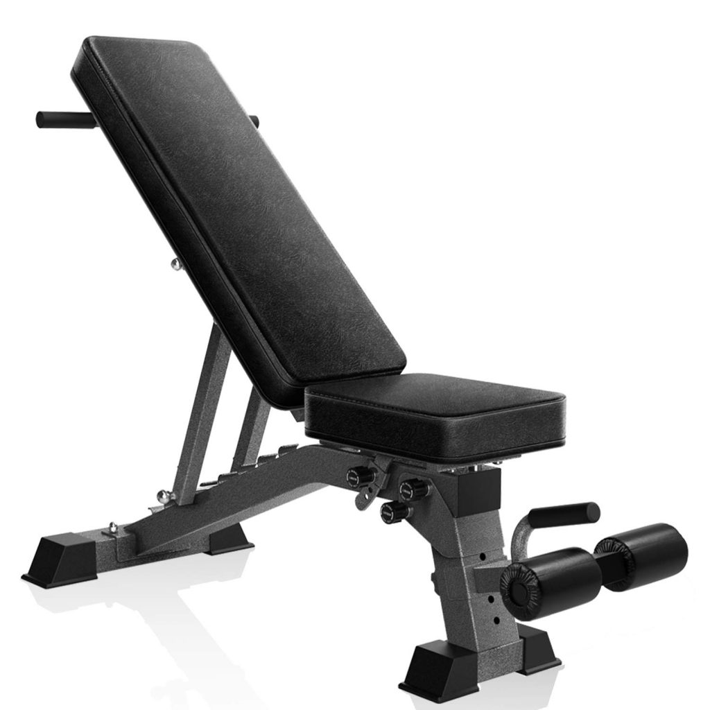 YouTen Adjustable 9 Positions Incline Decline Bench