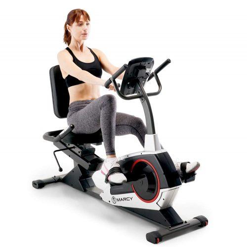 Marcy Regenerating Recumbent Exercise Bike, ME-706