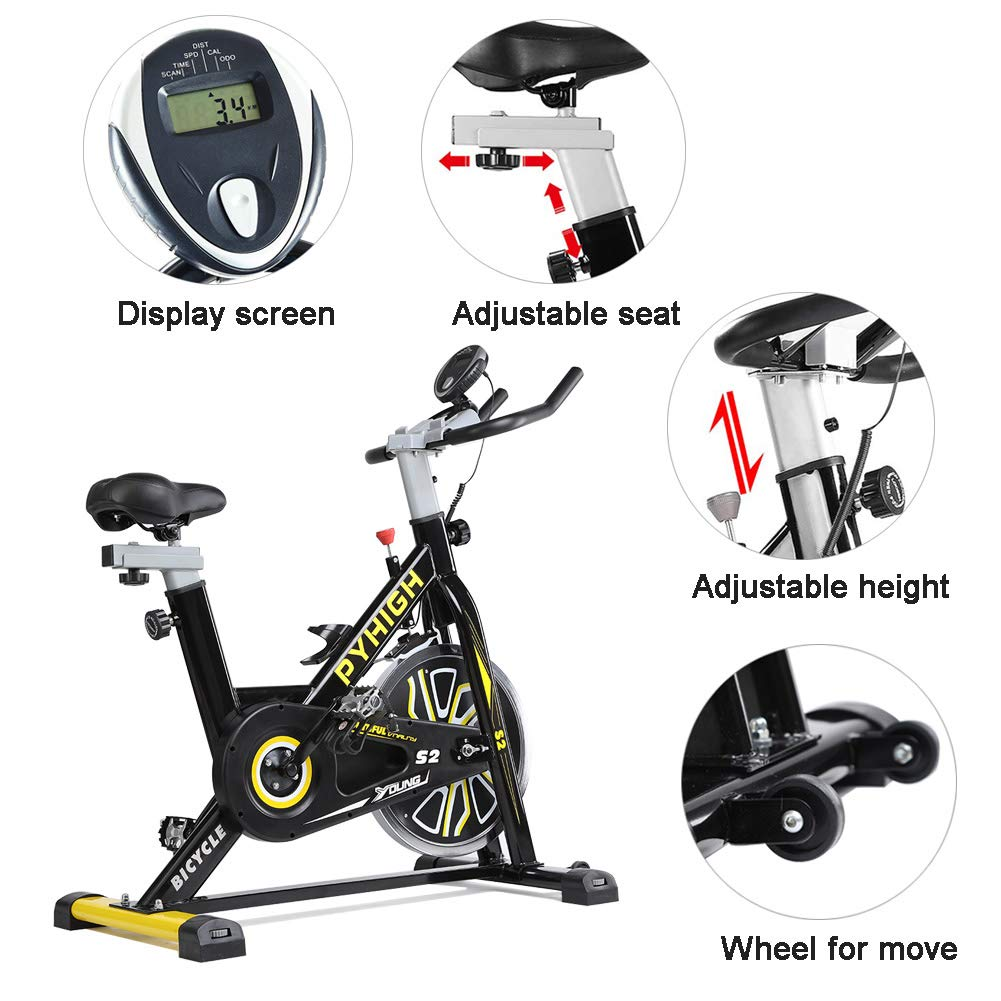 PYHIGH S2 Belt Drive Indoor Bike