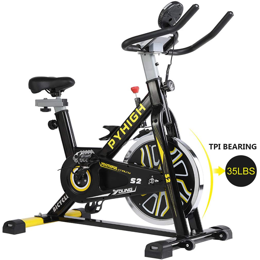 PYHIGH S2 Belt Drive Indoor Cycling Bike