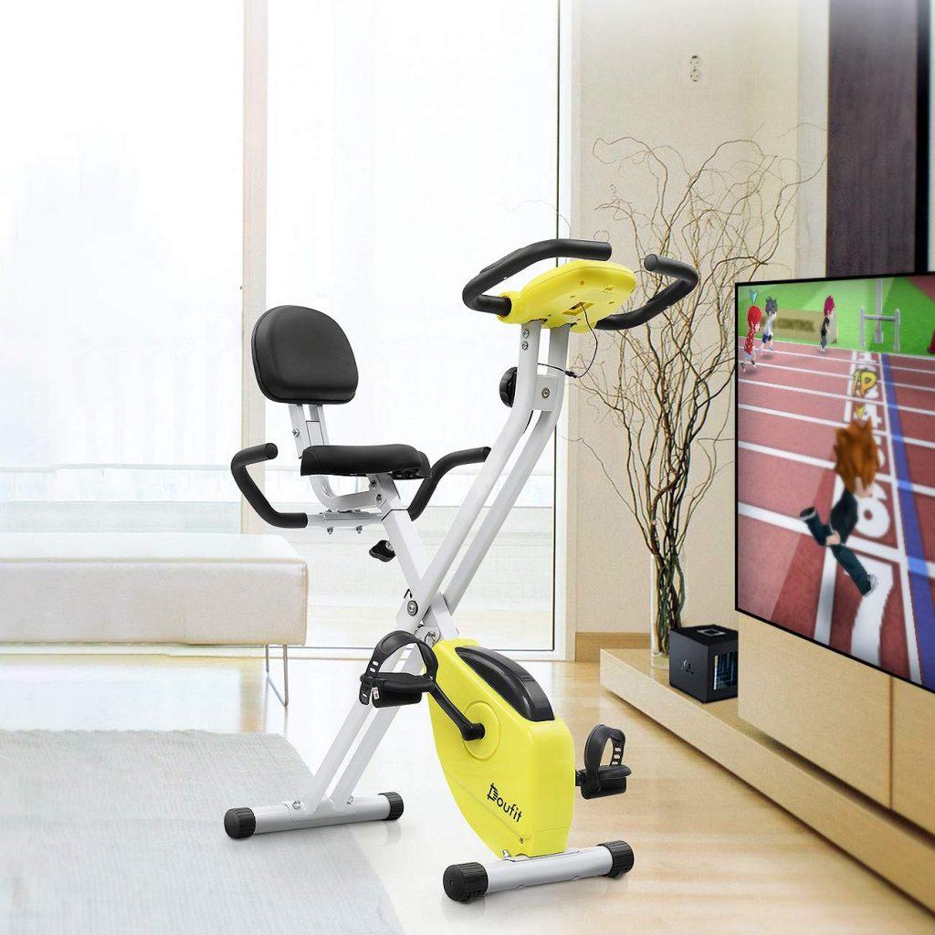 doufit stationary exercise bike eb-01