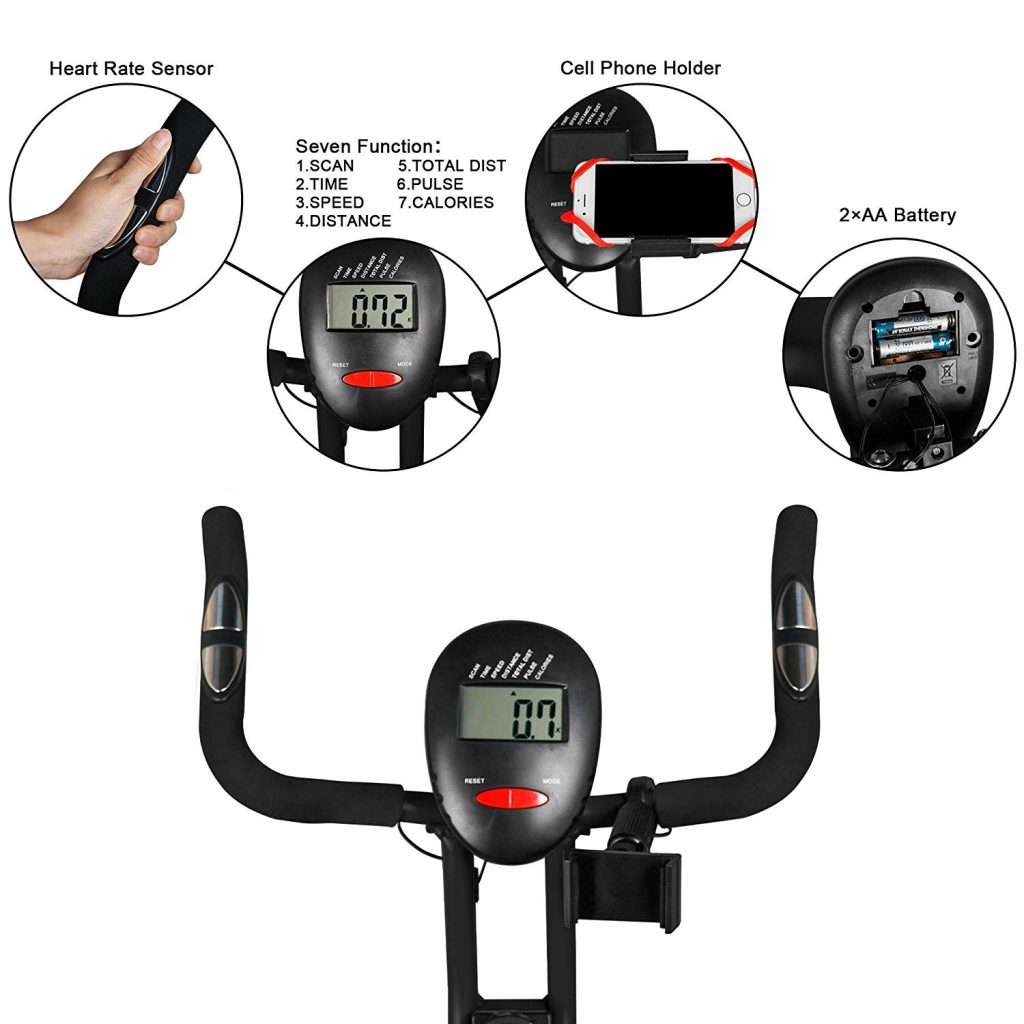 lazzo indoor bike display panel