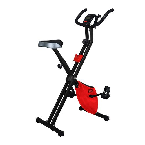 lazzo stationary foldable bike