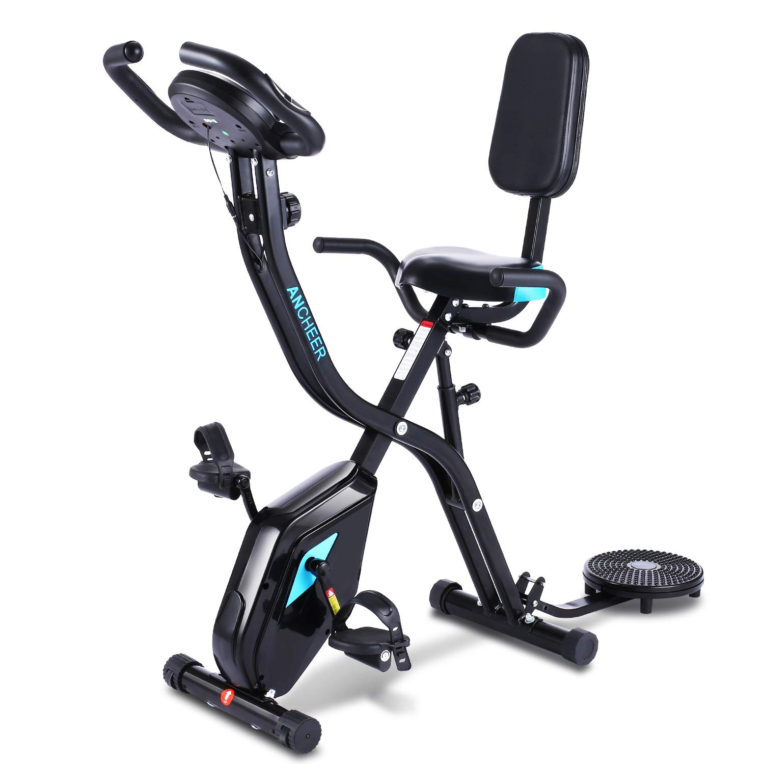 Ancheer Zafuar 3-in-1 Slim Cycle Exercise Bike