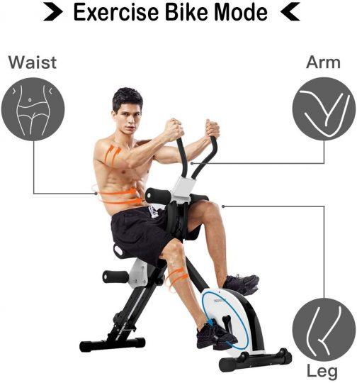 IPO 3-in-1 Stationary Bike Cardio