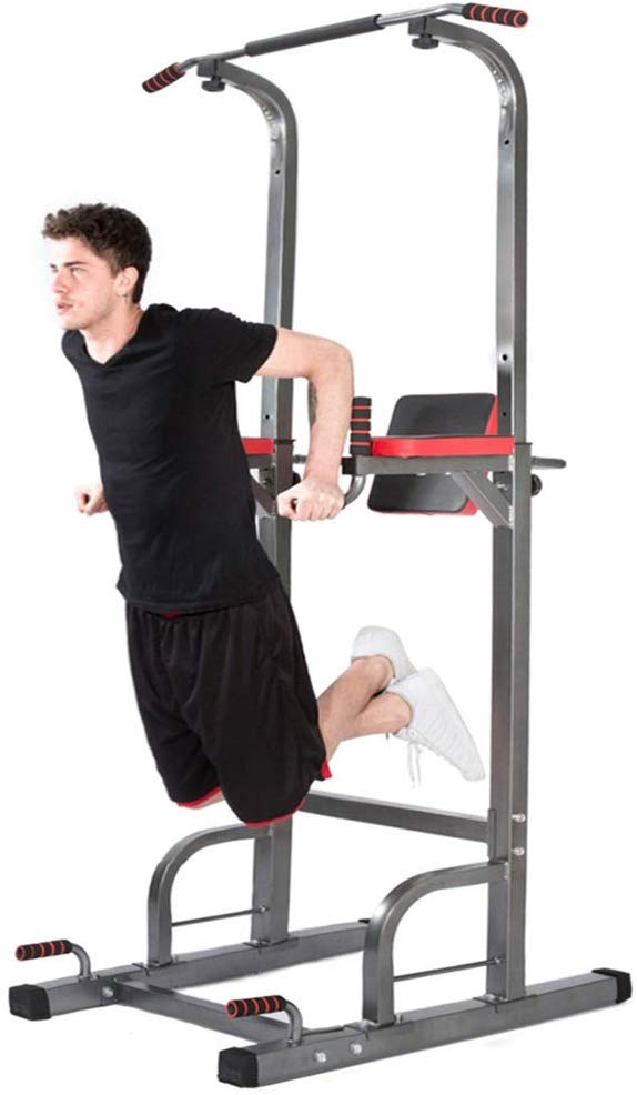 Lx Free Power Tower - Home Gym Adjustable Multi-Function
