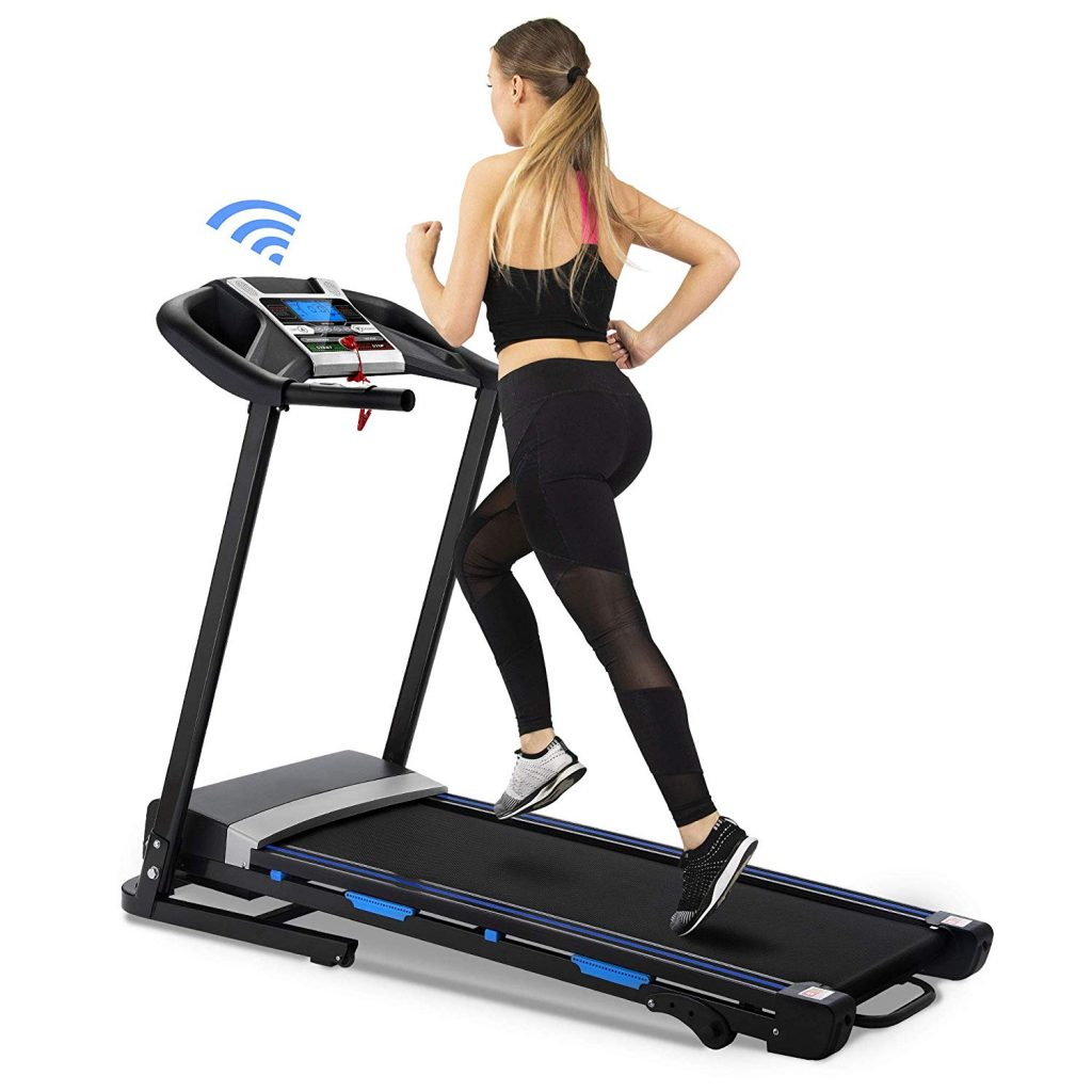 Oootori Folding Treadmill Automatic Incline