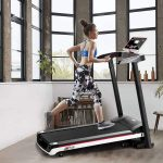 Sinoluck Folding Motorized Treadmill