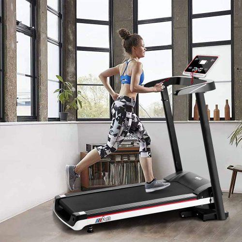 Sinoluck Folding Motorized Treadmill