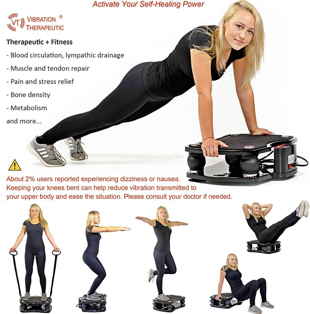 VT High Frequency Linear Vibration Plate Therapeutic