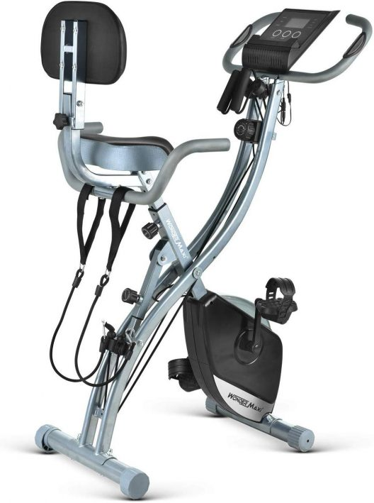 Wonder Maxi Folding Upright Recumbent Magnetic Exercise Bike