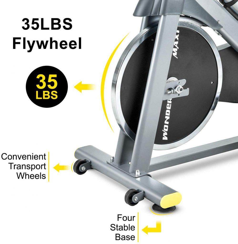 Wonder Maxi WSP6908H Indoor Bike 35lb Flywheel