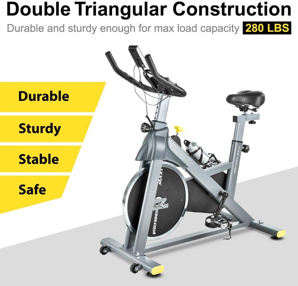 Wonder Maxi WSP6908H Indoor Exercise Bike Safe Comfortable