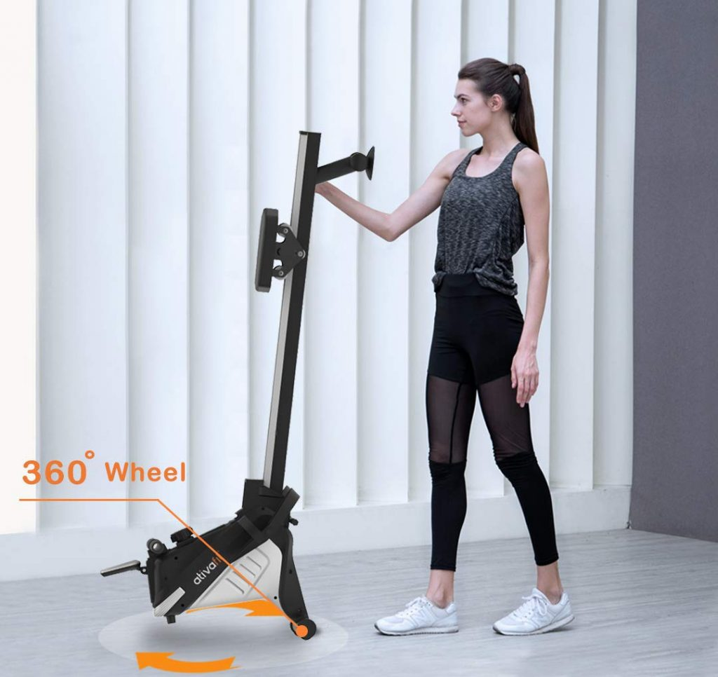 ATIVAFIT Magnetic Rower Foldable Portable