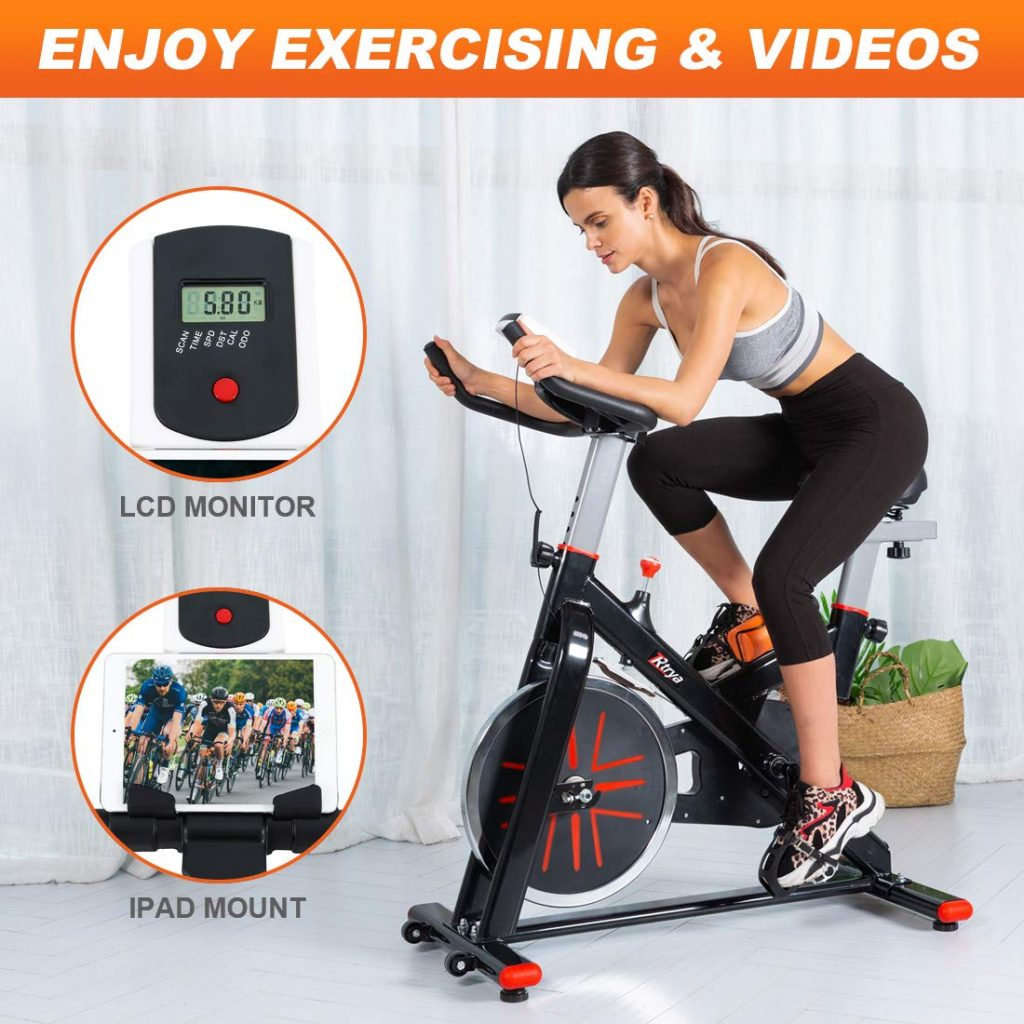 Trya Indoor Stationary Cycling Spin Bike
