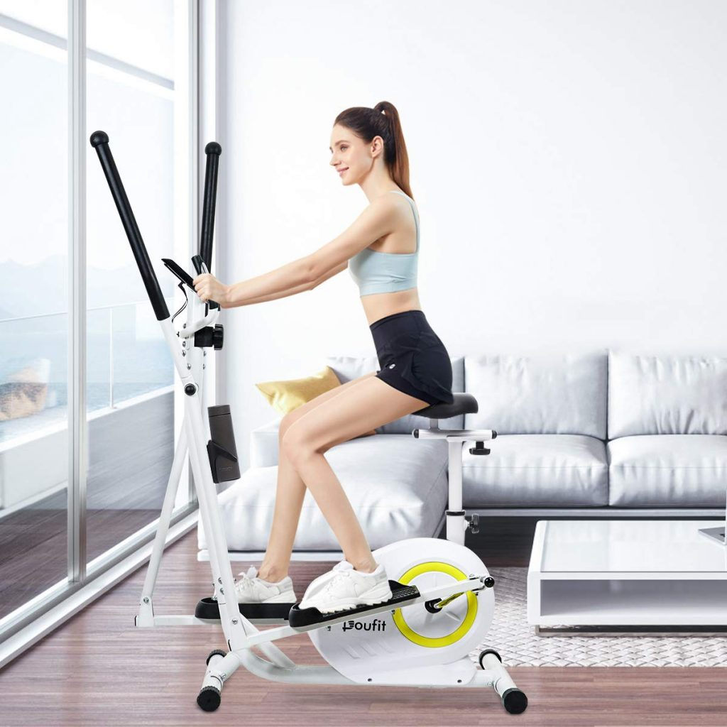 Doufit Elliptical Machine for Home Use, Portable Elliptical EM-02