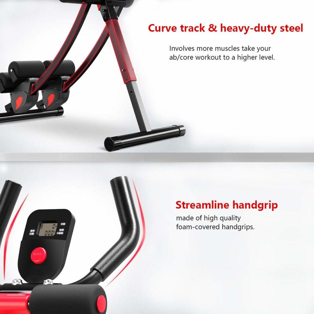 Fitlaya Fitness Ab Machine Trainer