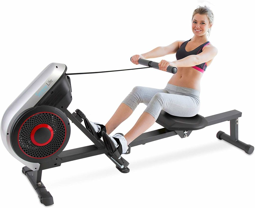 SereneLife Air and Magnetic Rowing Machine