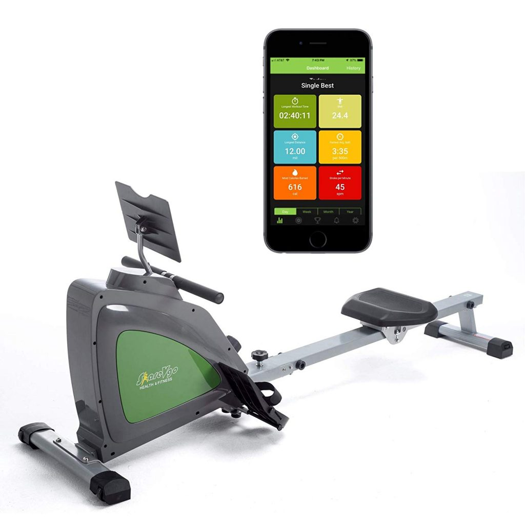 ShareVgo Smart Rower Folding Magnetic SRM1000