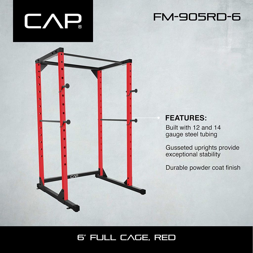 CAP Barbell Full Cage Power Rack 6' and 7'