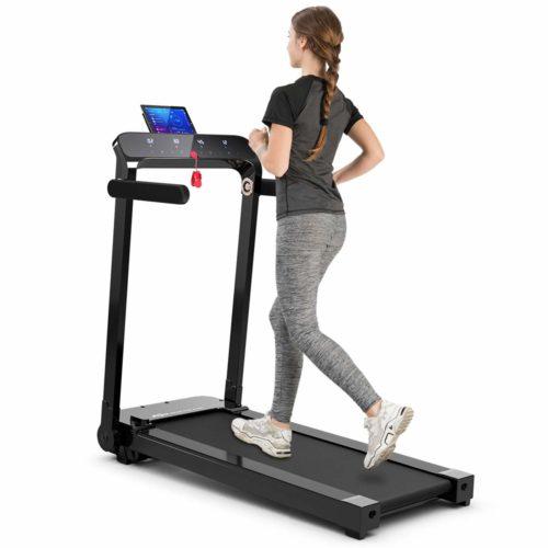 Goplus Electric Folding Treadmill, Installation-Free