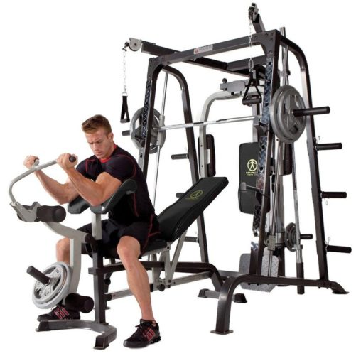 Marcy Smith Cage Workout Machine Total Body Training Home Gym System