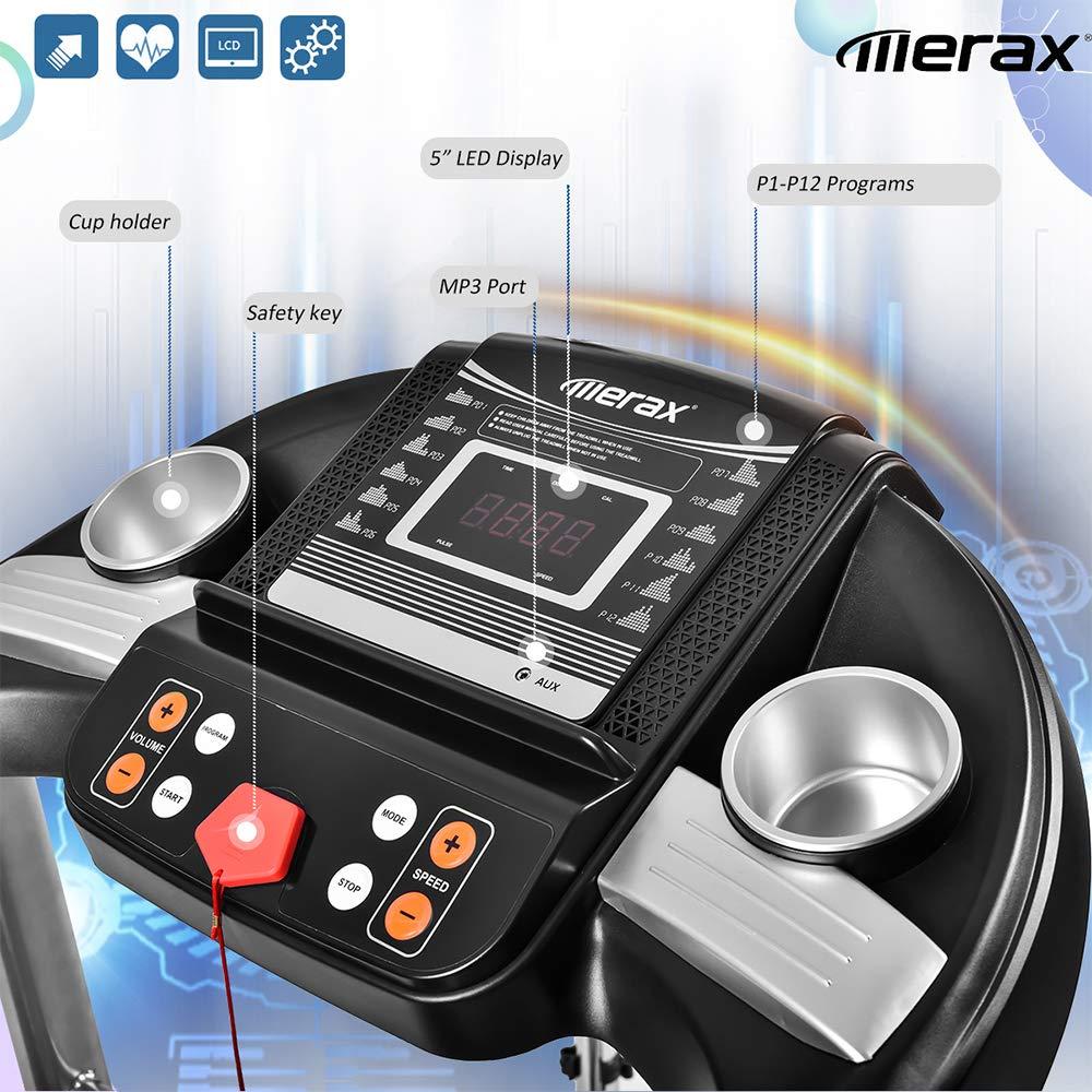 Merax M71 EiioX Folding Treadmill 1.5HP