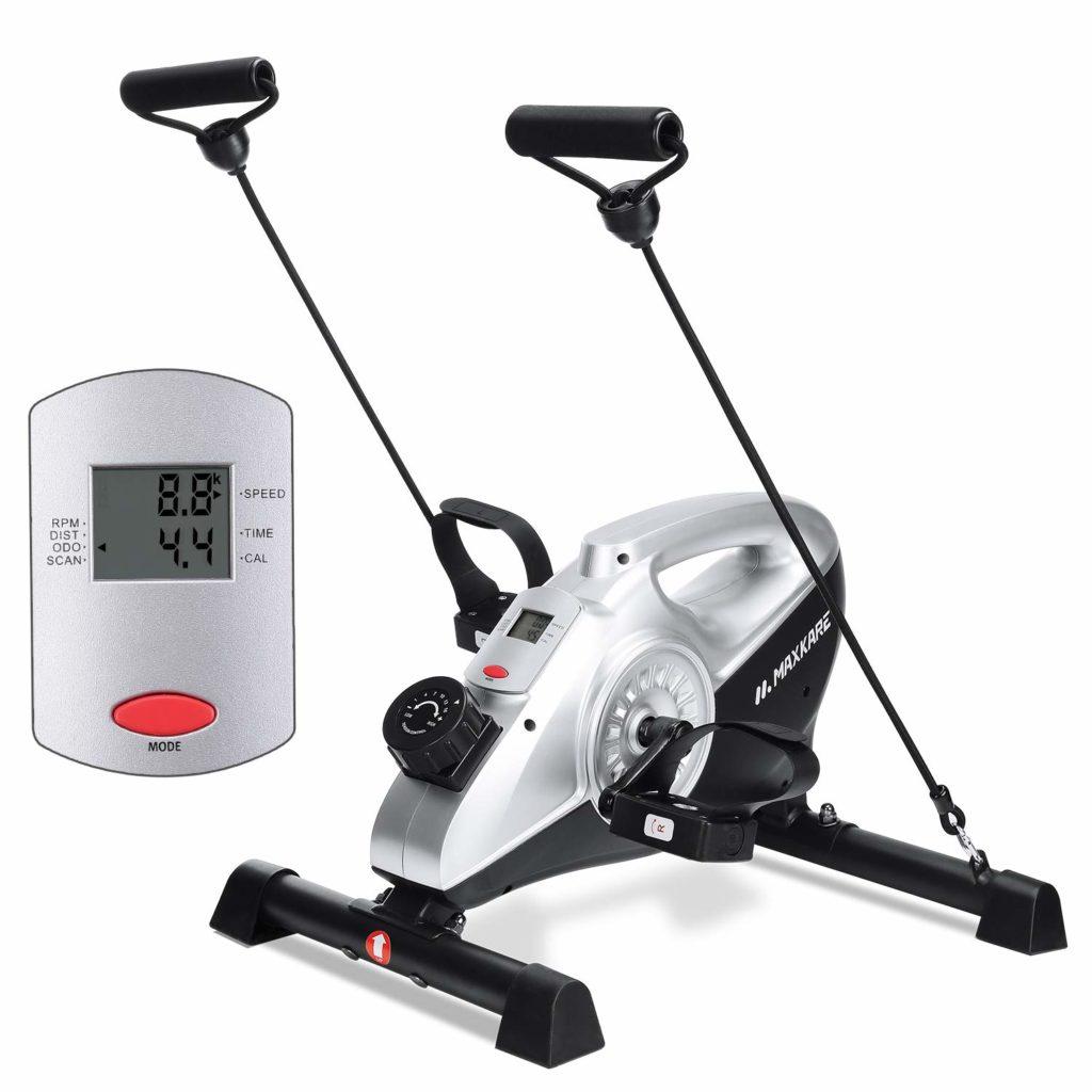 MaxKare Under Desk Magnetic Mini Exercise Bike