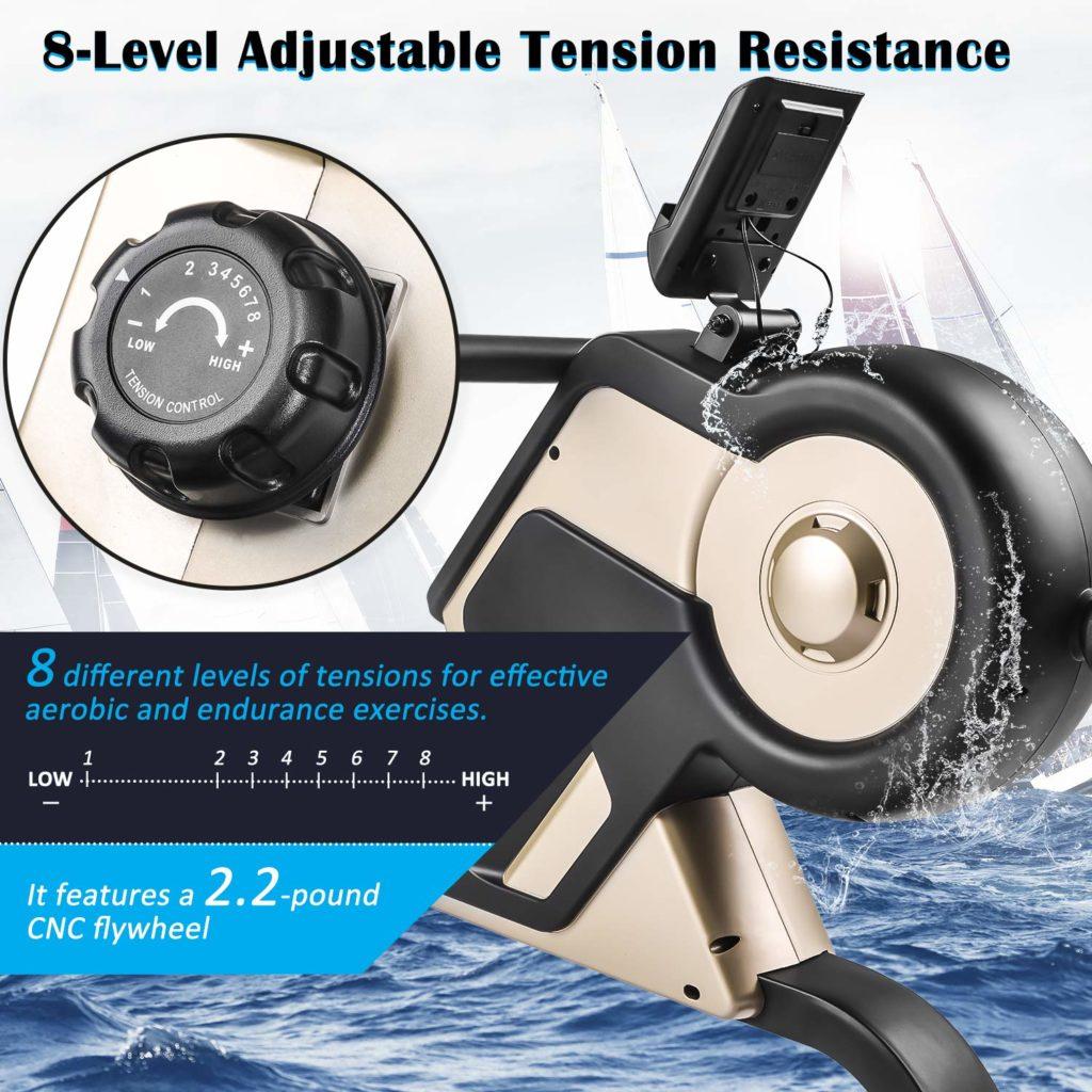 Merax Rowing Machine Rower 340 LBS Flywheel