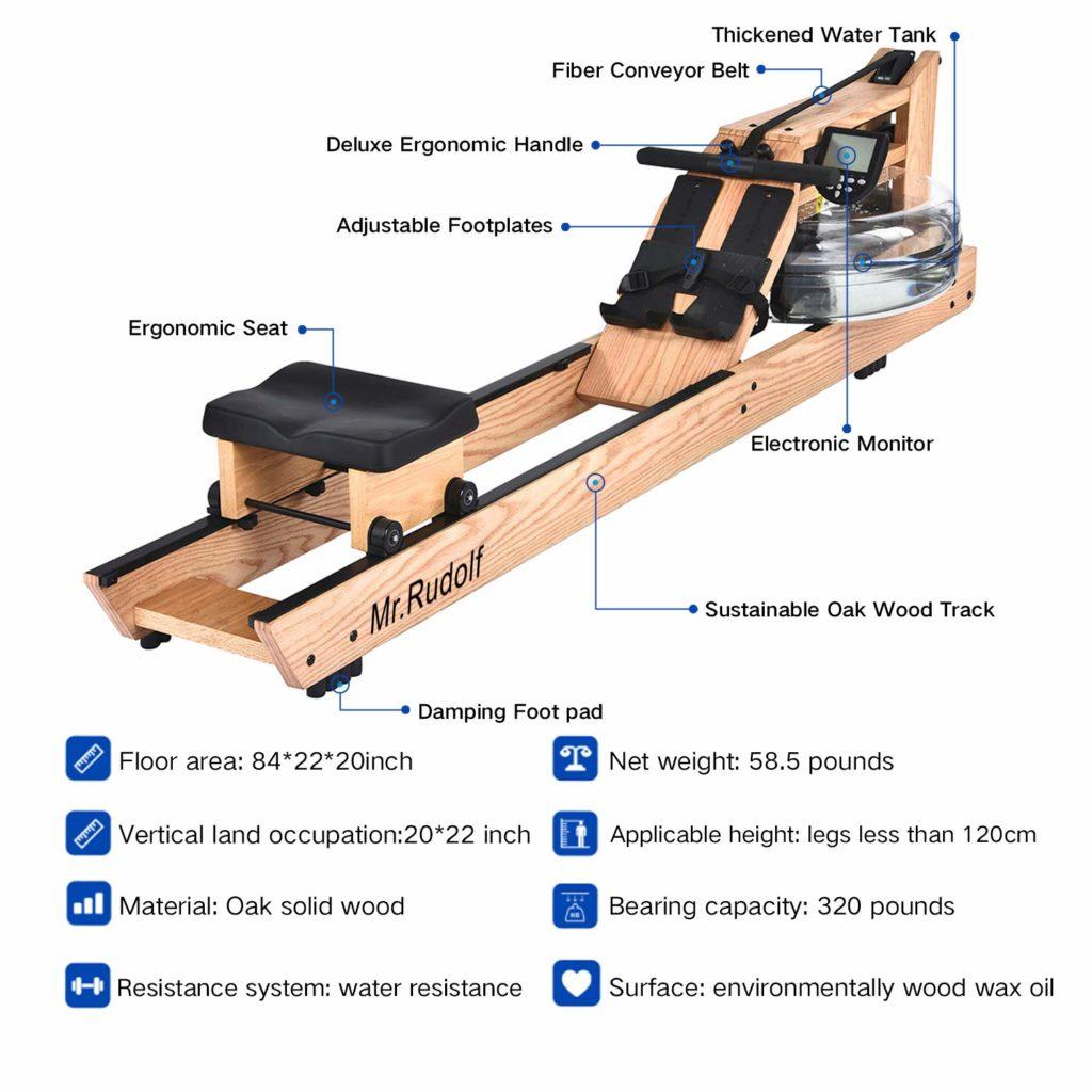 Mr Rudolf Water Rowering Machine Parts