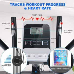 ANCHEER Elliptical Machine LCD Display