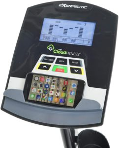 Exerpeutic 5000 Magnetic Recumbent LCD Display