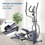 MaxKare Magnetic Elliptical Trainer