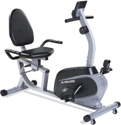 MaxKare Magnetic Recumbent Exercise Bike