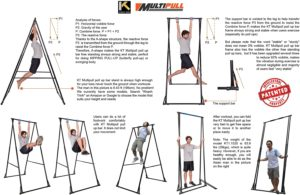 KT Mens Pull-up Bar, Abs Pull up Machine Exercises