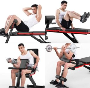 Adking Mosunx Adjustable Weight Bench
