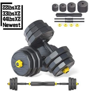 IRUI Adjustable Fitness Dumbbells Set