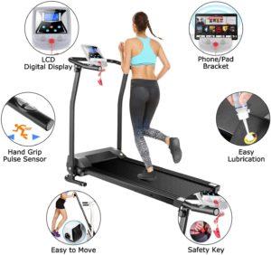 Mauccau Folding Treadmill