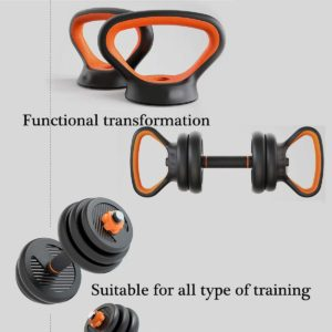 Pinroyal 4 in 1 Fitness Dumbbell Barbell